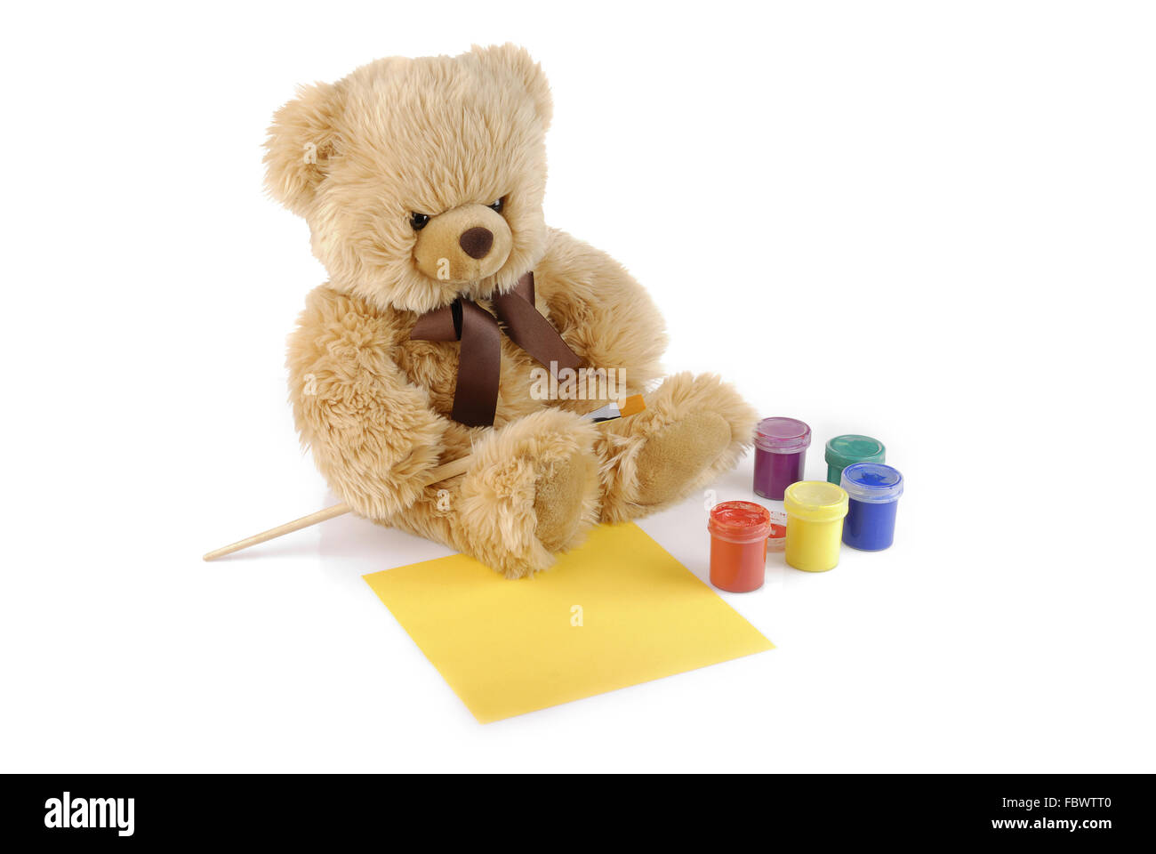 Cuddly White Teddy Bear Red Stockfotos & Cuddly White Teddy Bear Red ...