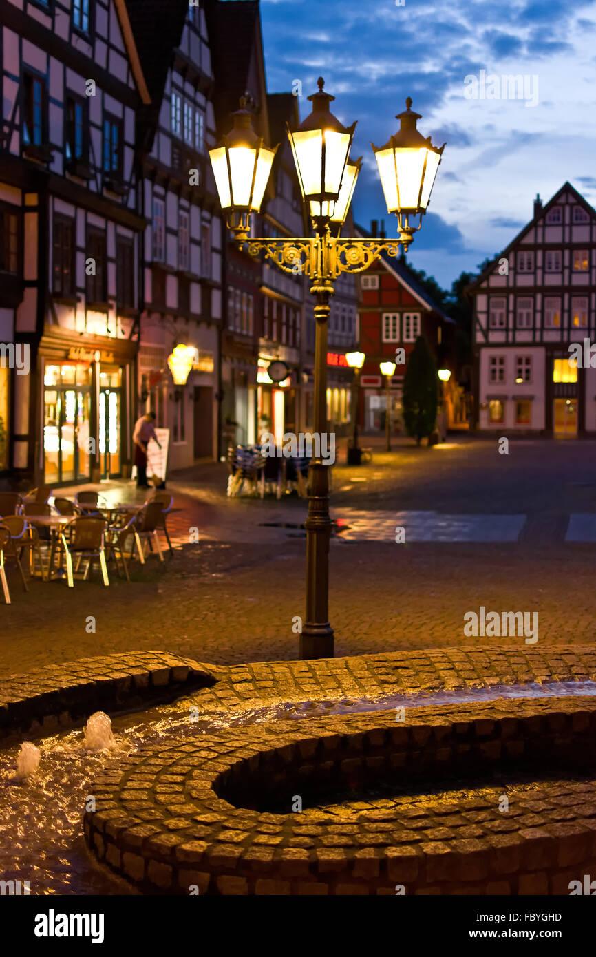 Rinteln, Niedersachsen Stockbild