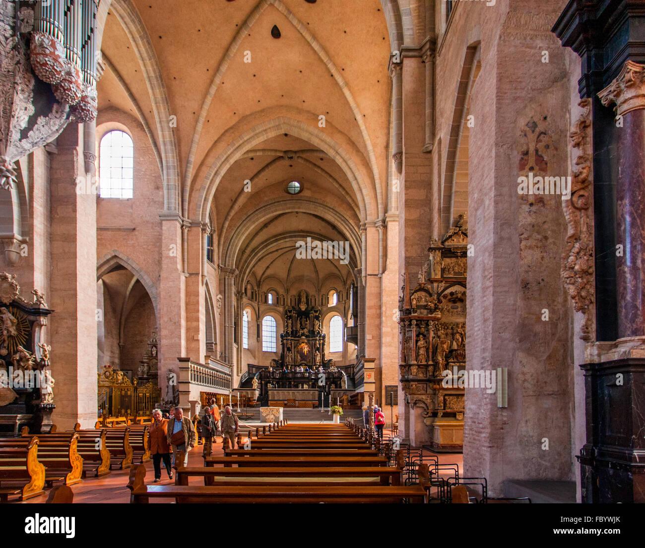 Kathedrale von Tier Stockbild