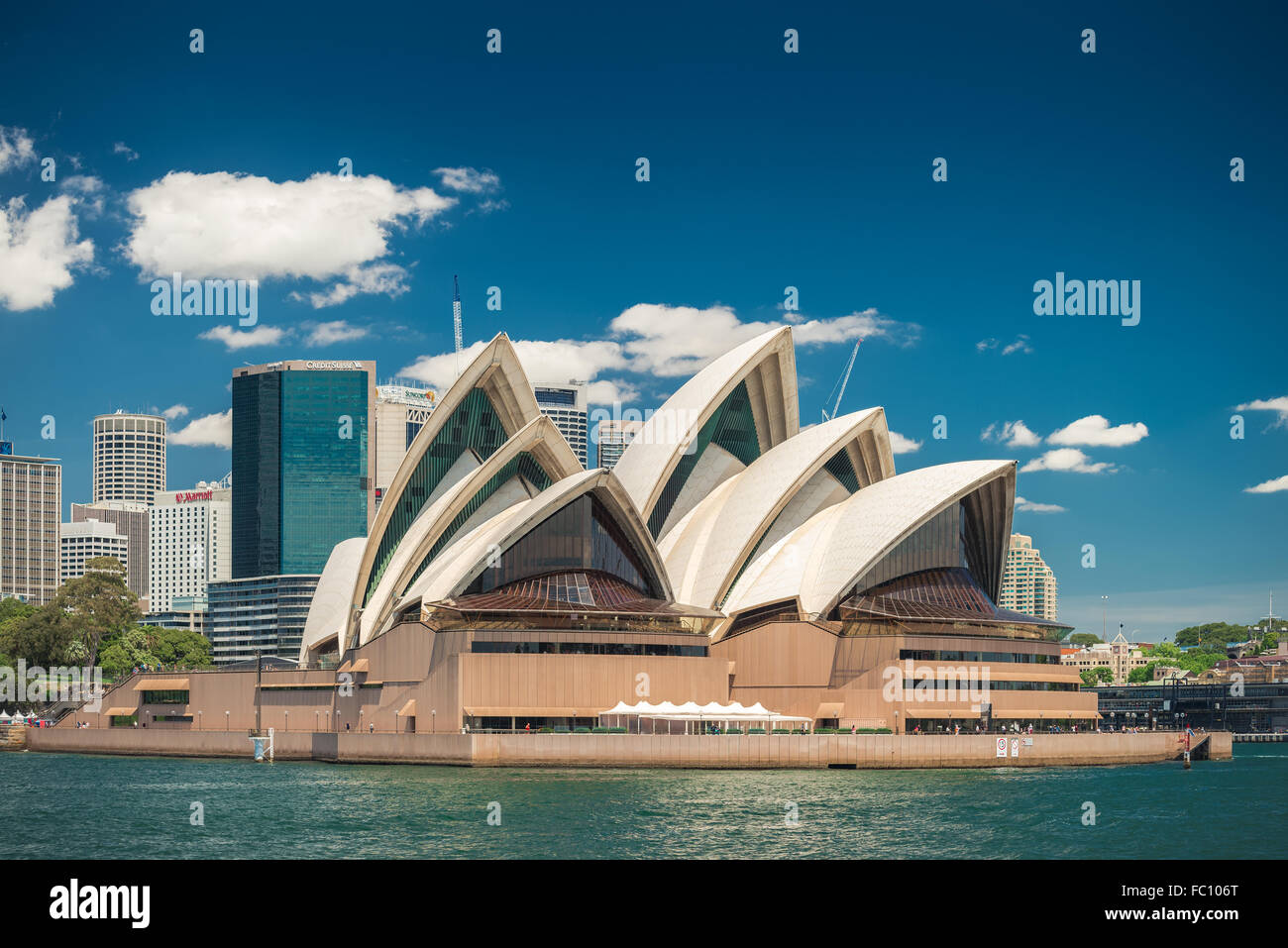 Sydney, Australien - 9. November 2015: The Sydney ist ein Multi-Veranstaltungsort Performing Arts Center. Stockfoto