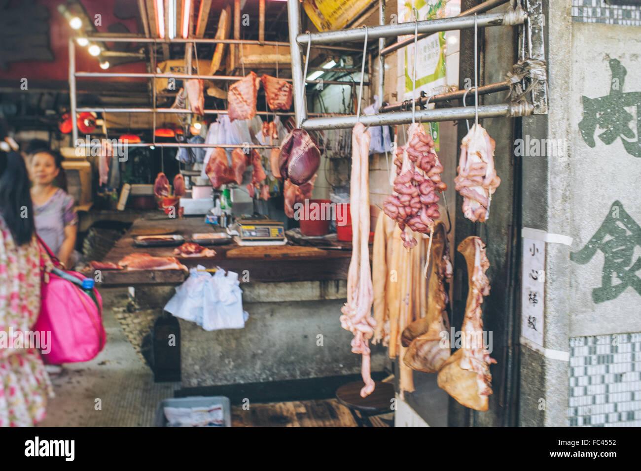 tierischer Organe zum Verkauf Stockbild