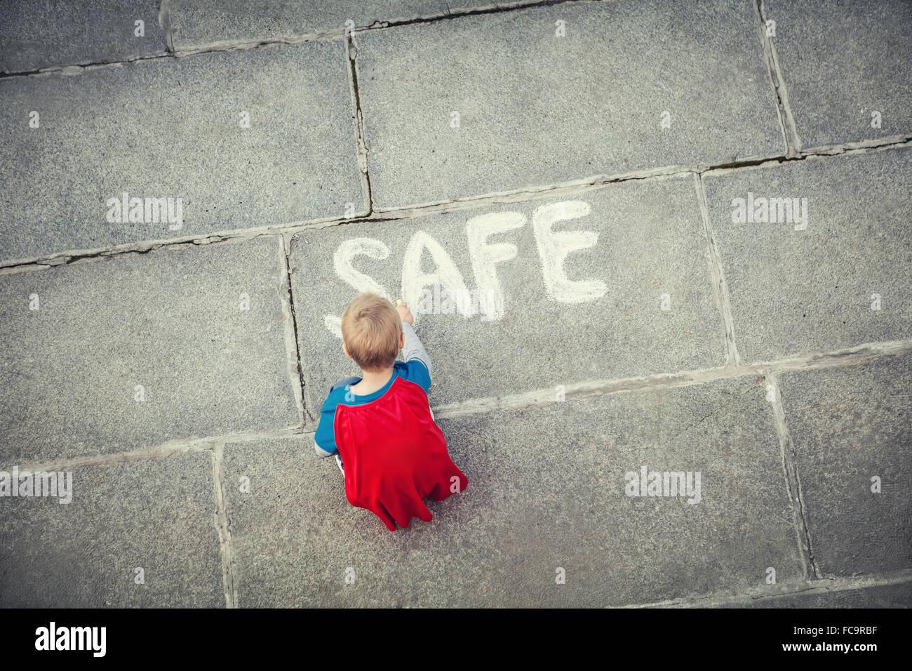 Safe Stockbild