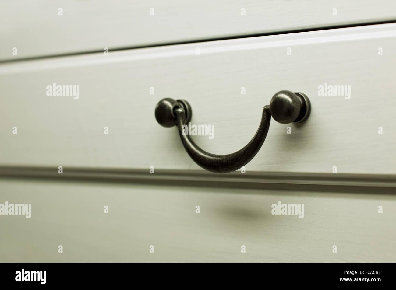 Küchenschrank Griffe Stockfoto, Bild: 93656962 - Alamy