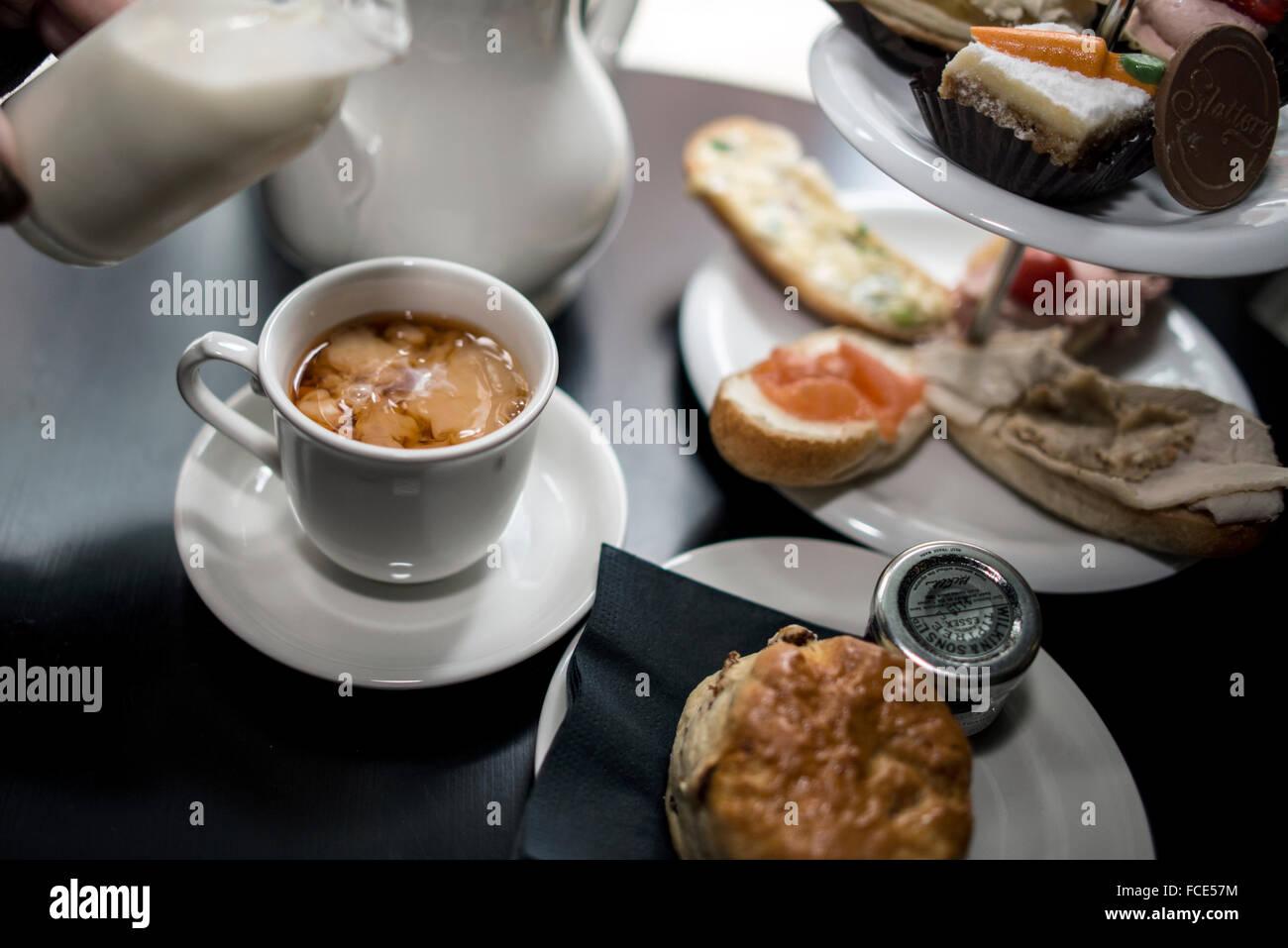 Afternoon Tea Stockbild