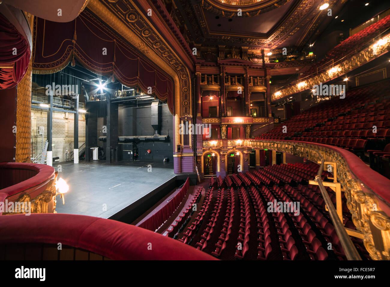 Das Palace Theatre-Manchester Stockbild