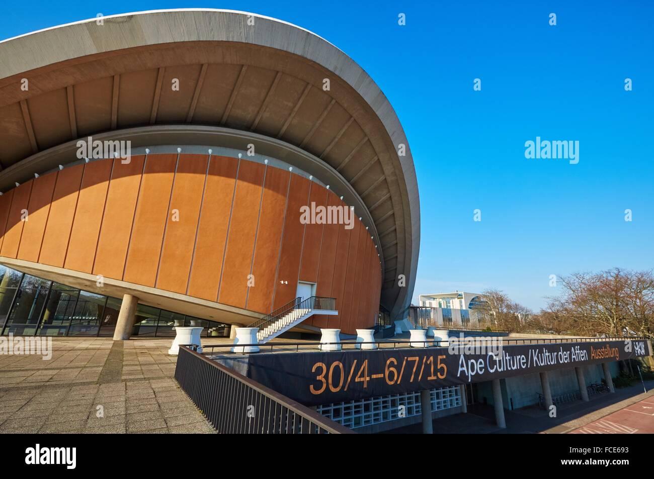 Haus der Kulturen der Welt, Berlin, Deutschland Stockbild