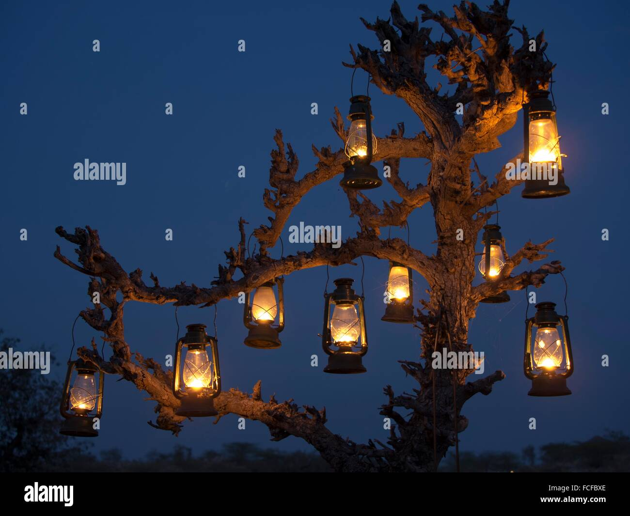 Eine Nacht hängen