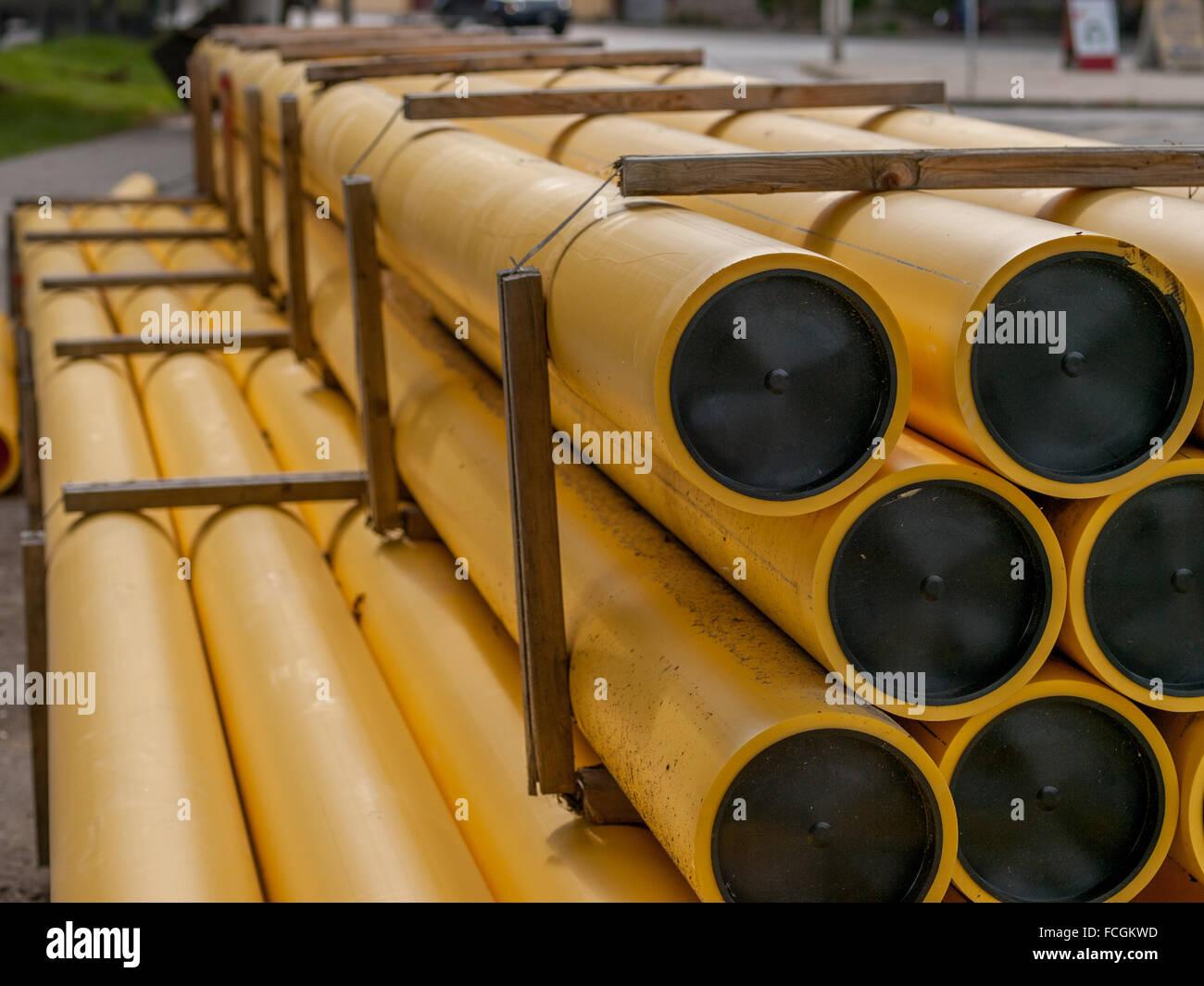 Plastic Pipes Stockfotos & Plastic Pipes Bilder - Alamy