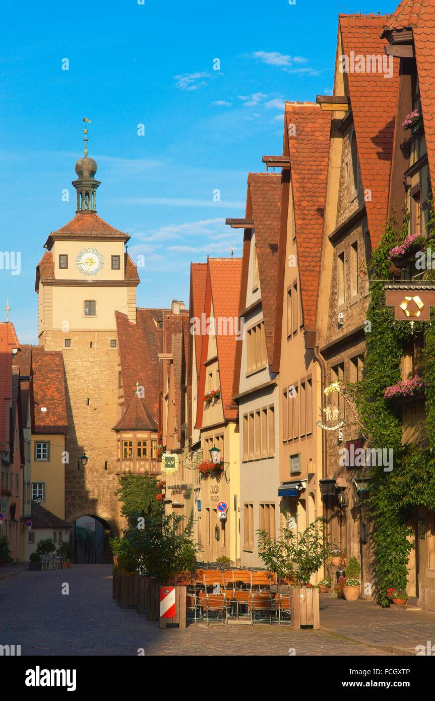 markusturm markus turm rothenburg ob der tauber romantische stra e romantische strasse. Black Bedroom Furniture Sets. Home Design Ideas