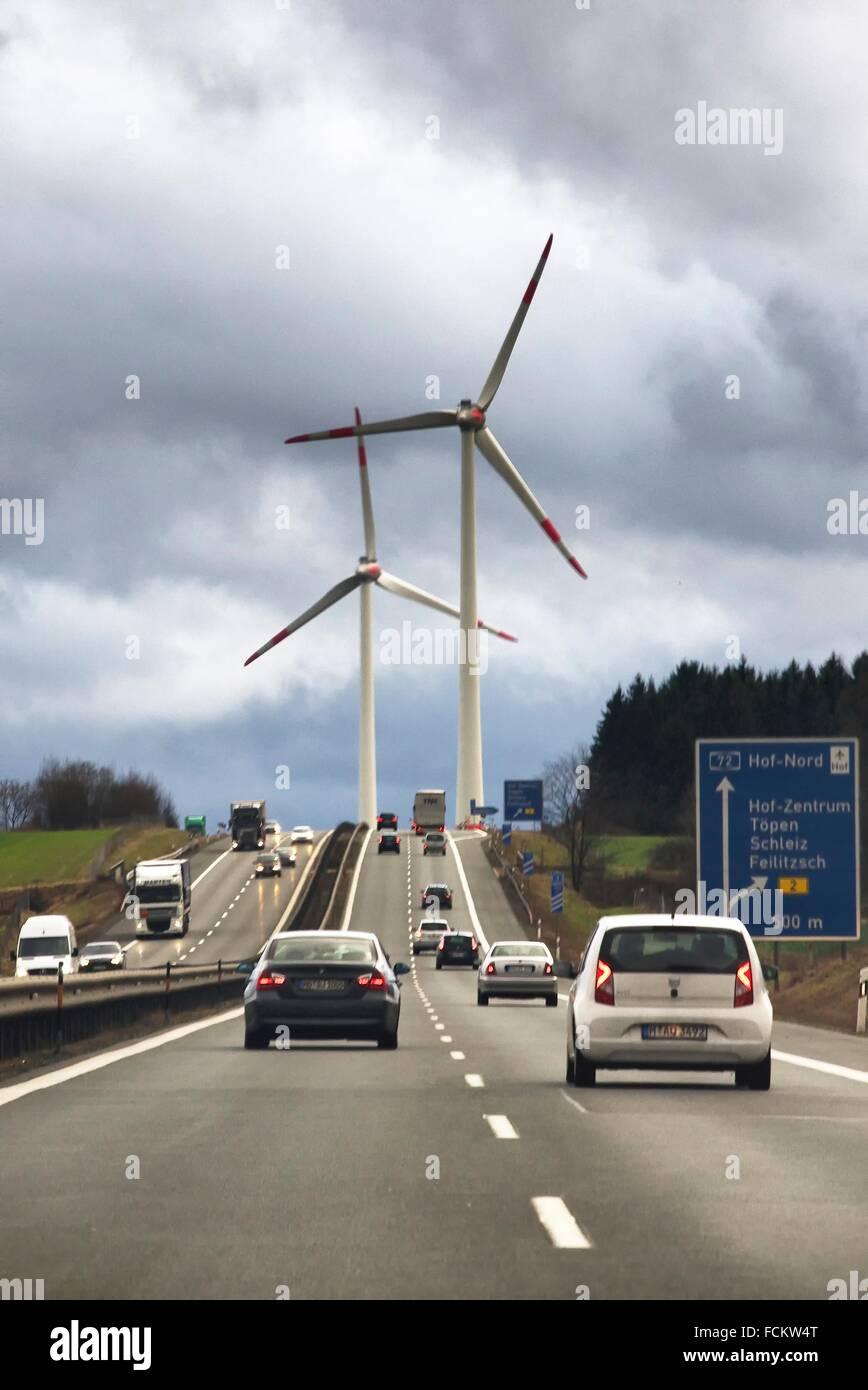 Deutschland Tschechische Republik Grenze Stockfotos Deutschland