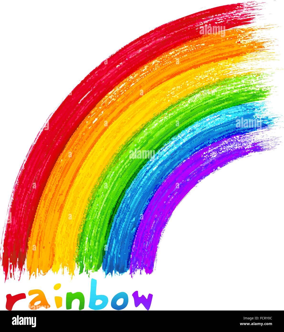 Regenbogen Bilder Gemalt