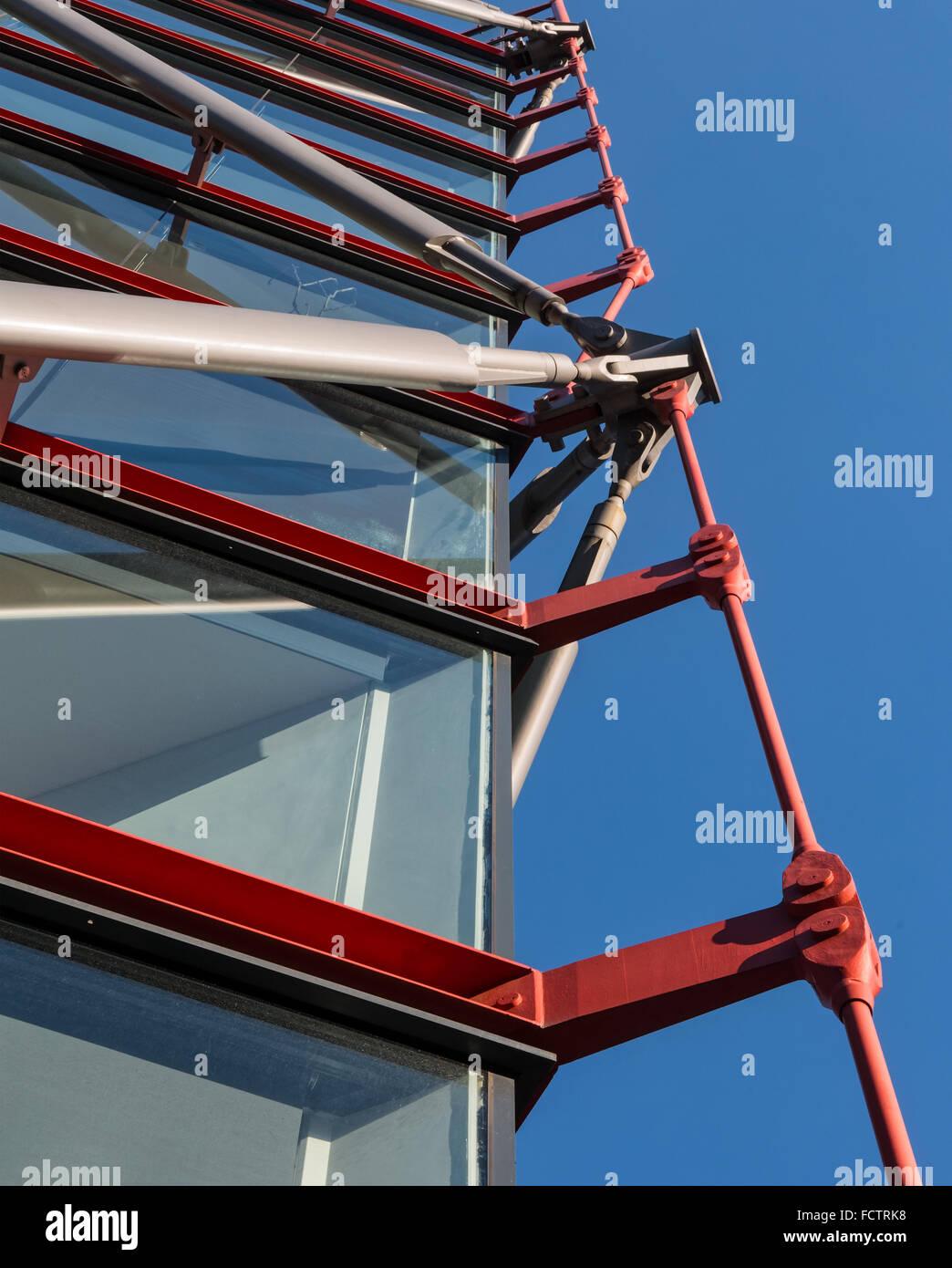 Neo Bankside Apartments von Rogers Stirk Harbour + Partners entworfen und nominiert für den RIBA Stirling Prize Stockbild