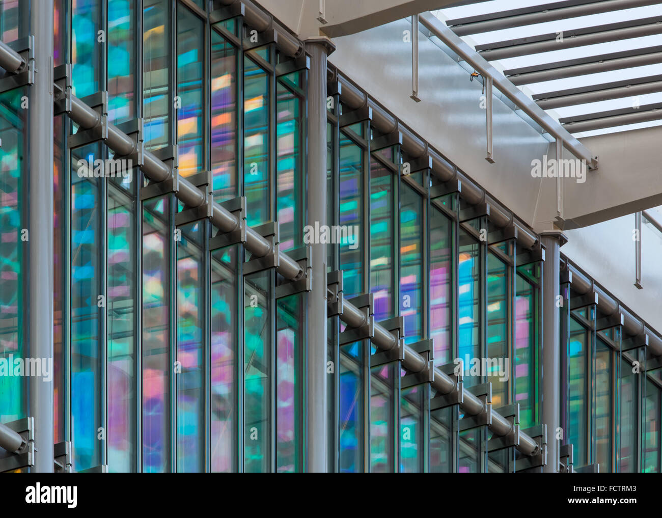 Francis Crick Institut an Midland Road, St Pancras, London Architekten HOK mit PLP Architektur. Stockbild