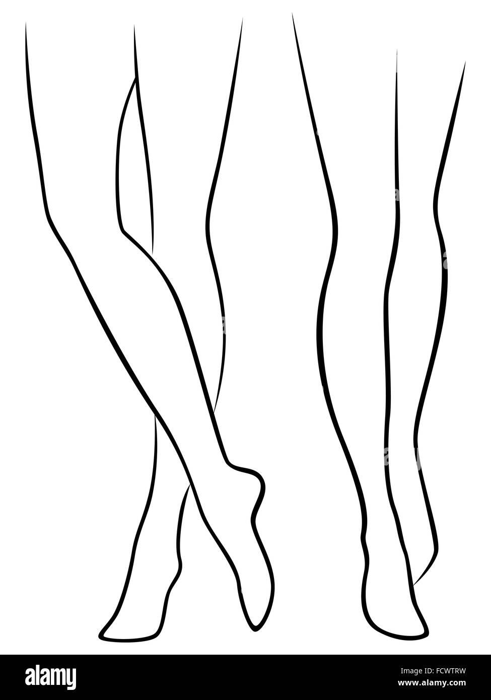 frauen nackt zeichnen