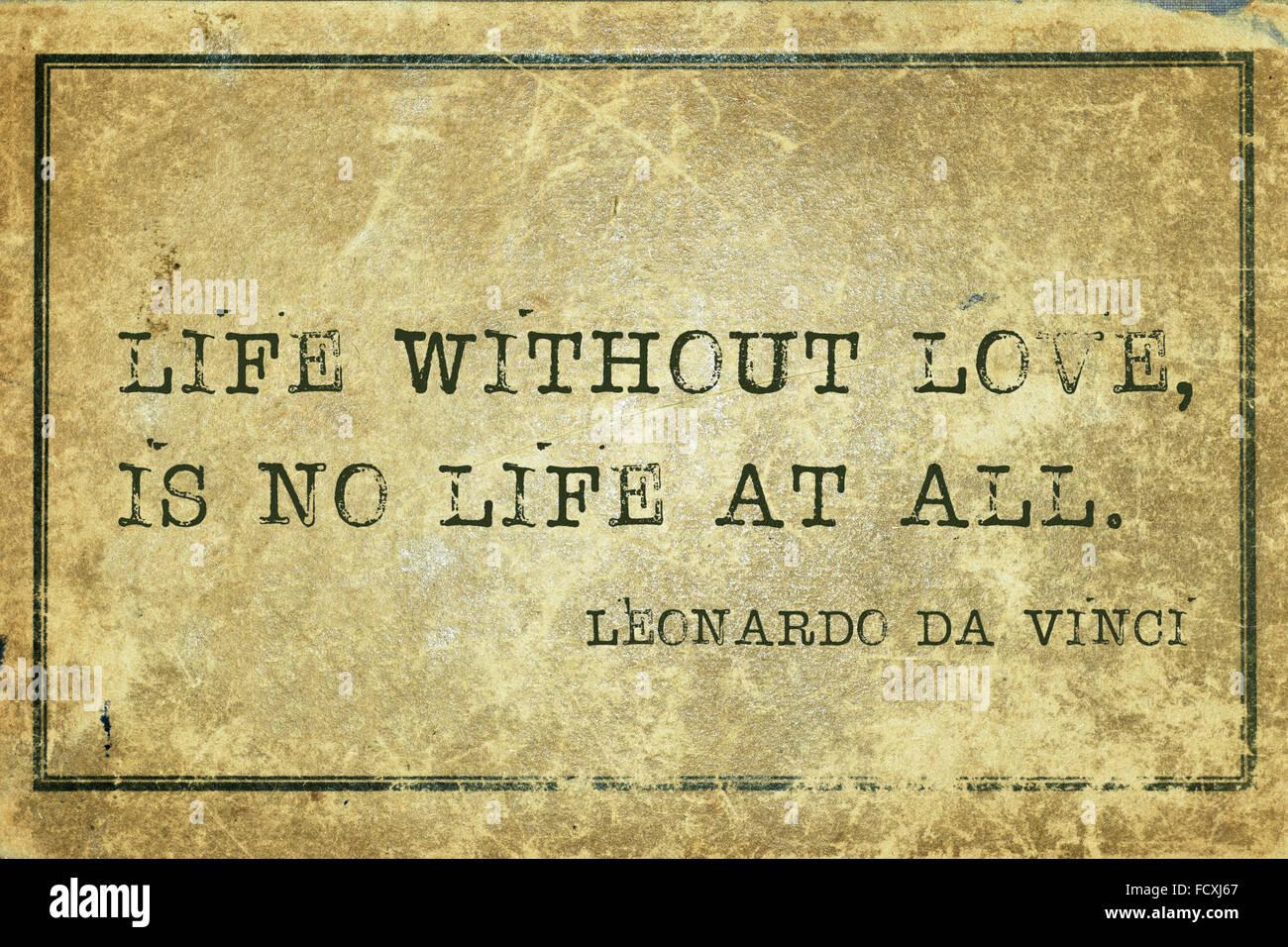 leben ohne liebe