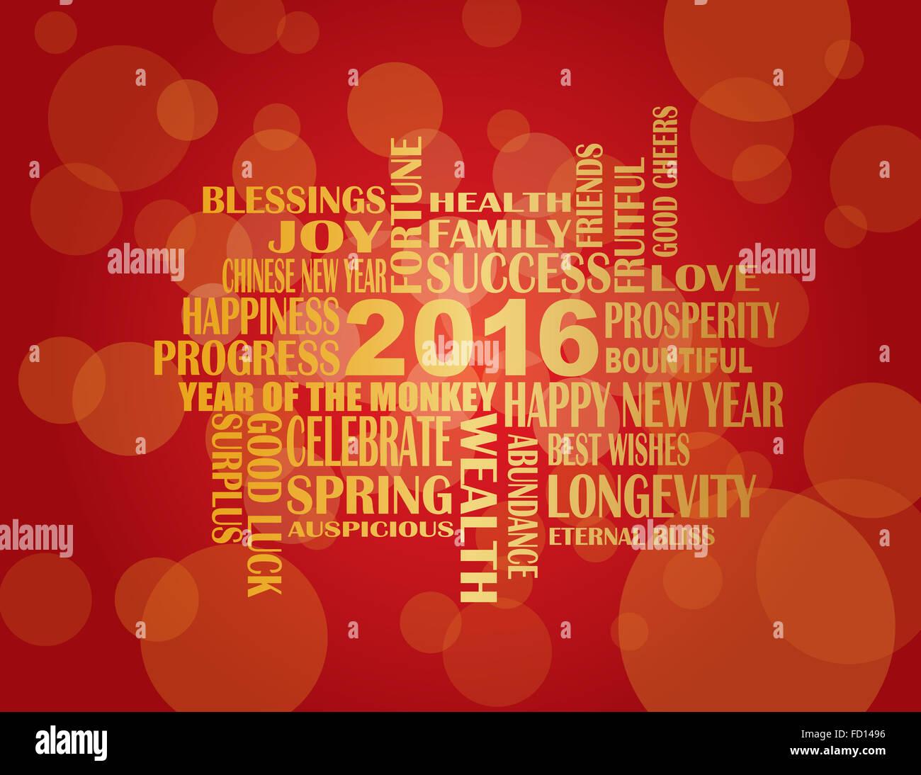2016 Chinese Lunar New Year Englisch Grüße Text wünschen Gesundheit ...