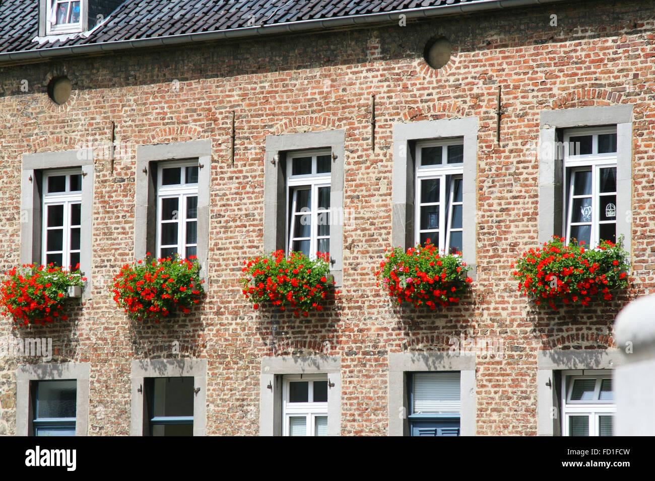 Brick House Germany Stockfotos & Brick House Germany
