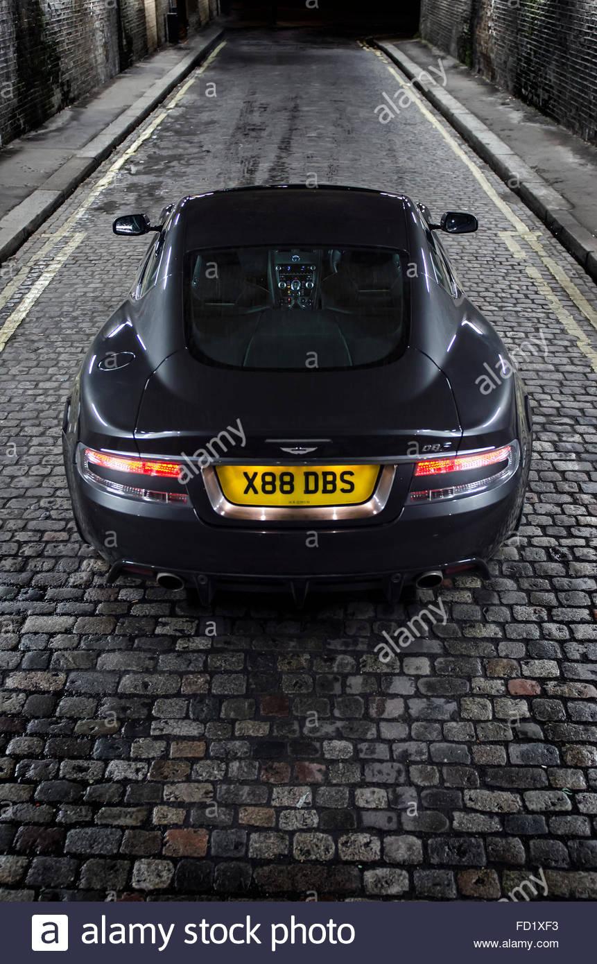 Aston Martin DBS Stockbild