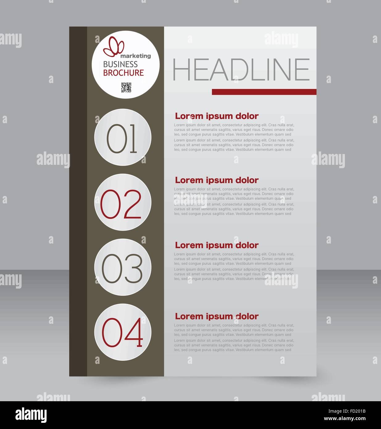 Abstrakte Flyer Design Hintergrund. Broschüre Vorlage. Kann für ...