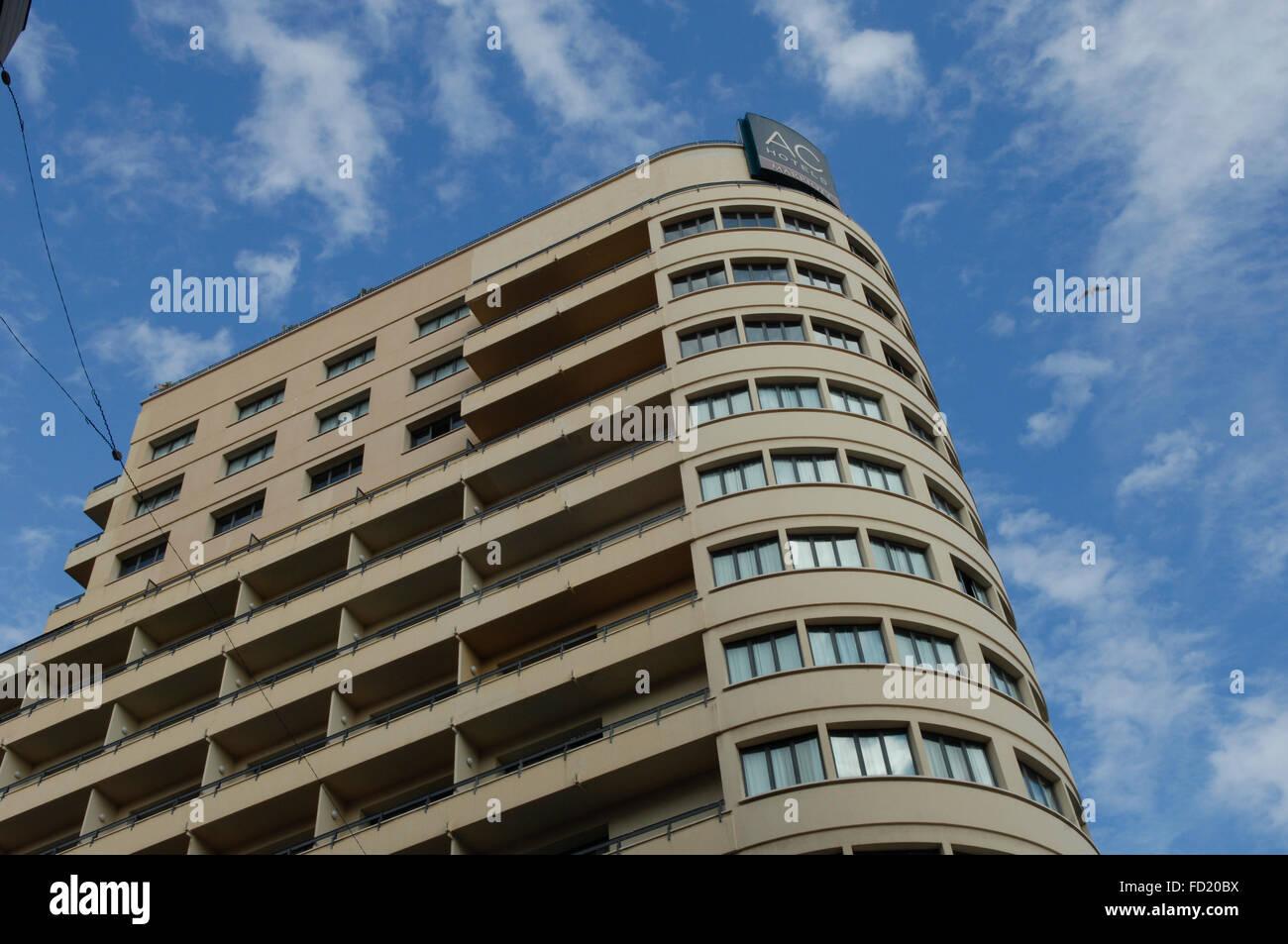 Ac Hotel Malaga Palacio Stockfotos Ac Hotel Malaga Palacio Bilder