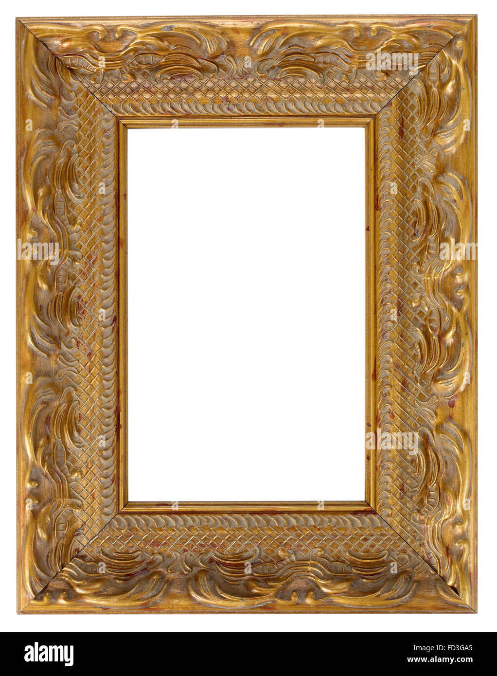 Mount Mounting Frame Borders Wood Wooden Picture Frame Stockfotos ...