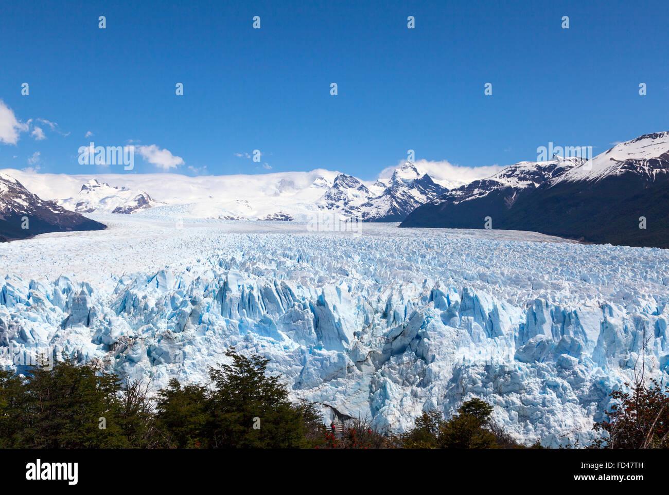 Der Nationalpark Los Glaciares, Argentinien Stockbild