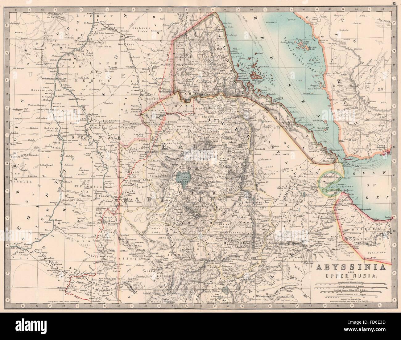 Map Ethiopia Stockfotos & Map Ethiopia Bilder - Alamy