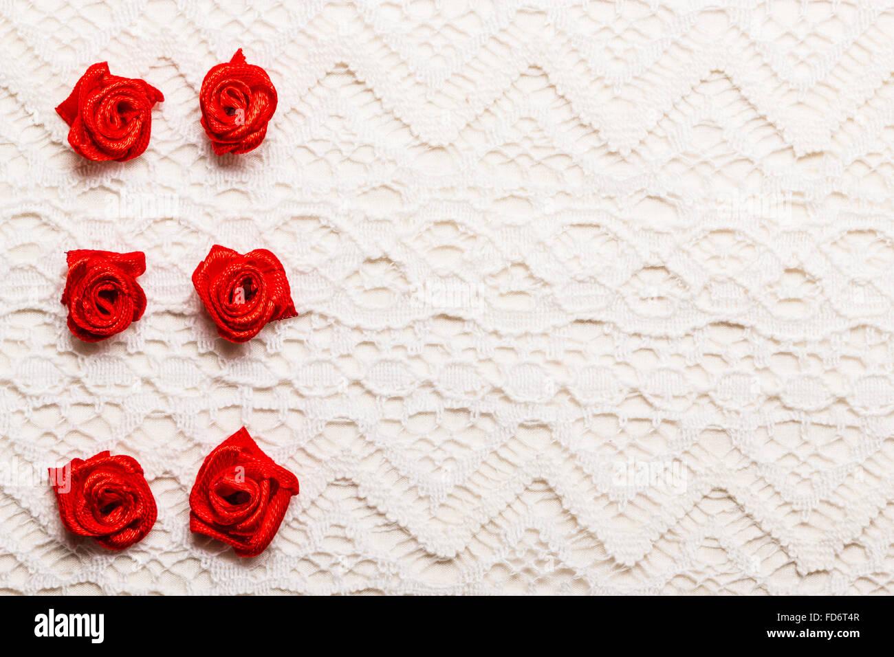 Valentinstag Hochzeit Einladung Oder Grusskarte Rote Satin