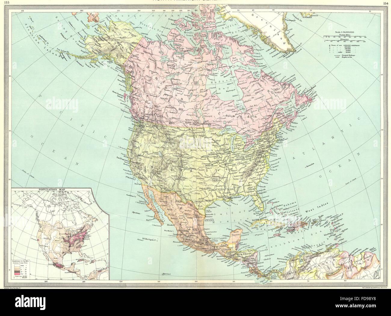 Karte Nordamerikas.Nordamerika Karte Stockfotos Nordamerika Karte Bilder Alamy
