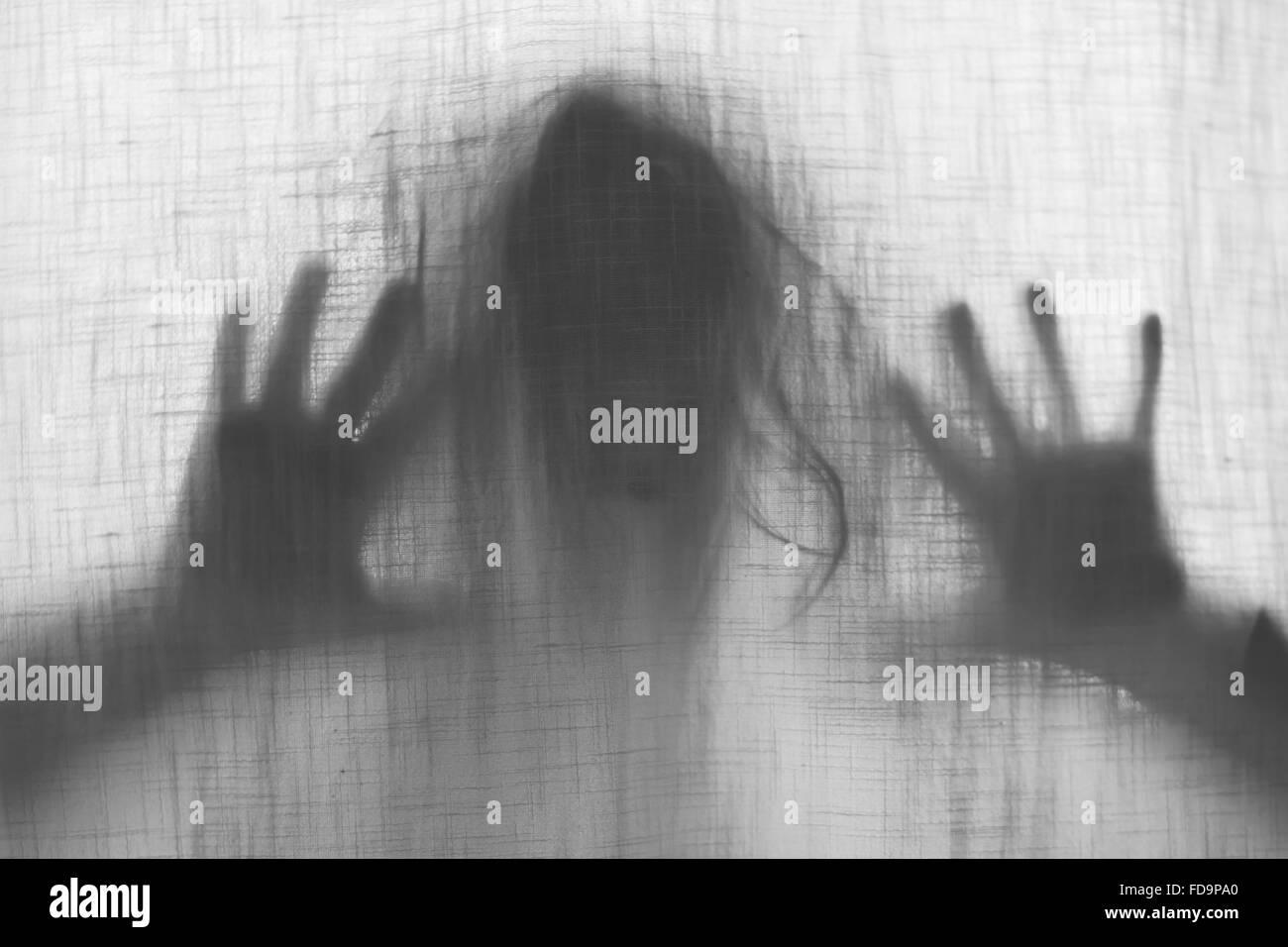 Scary ghost Stockbild