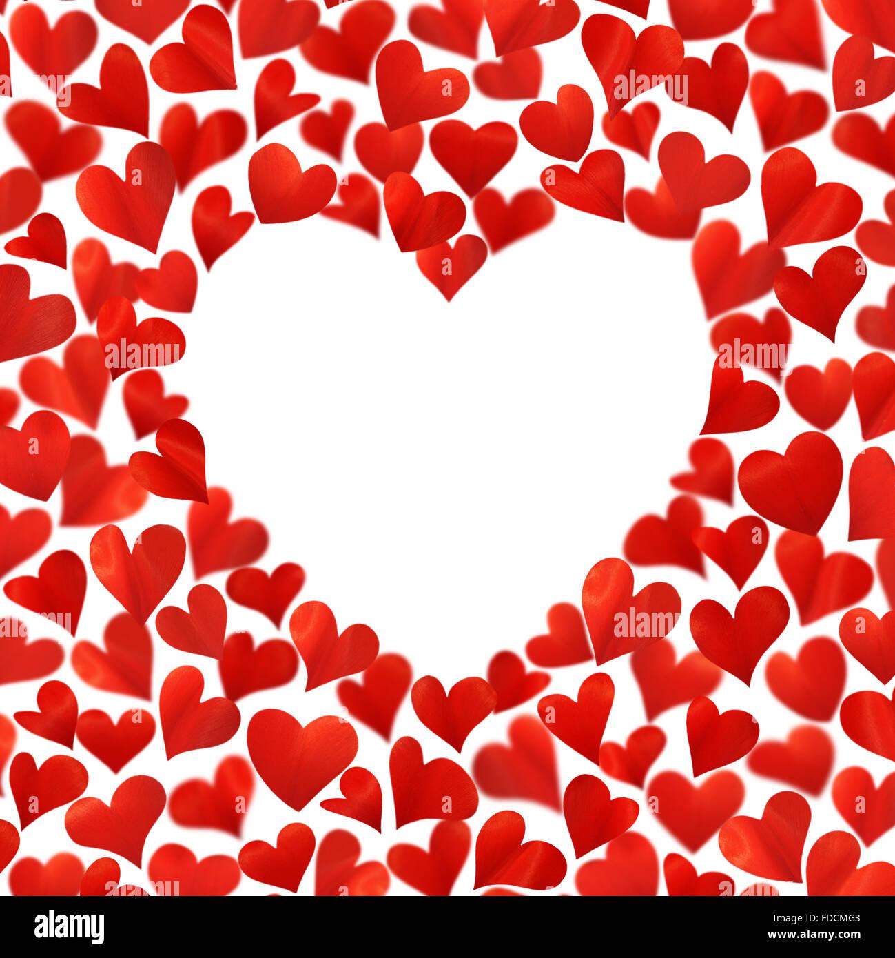 Happy Birthday Card Red Heart Stockfotos Happy Birthday