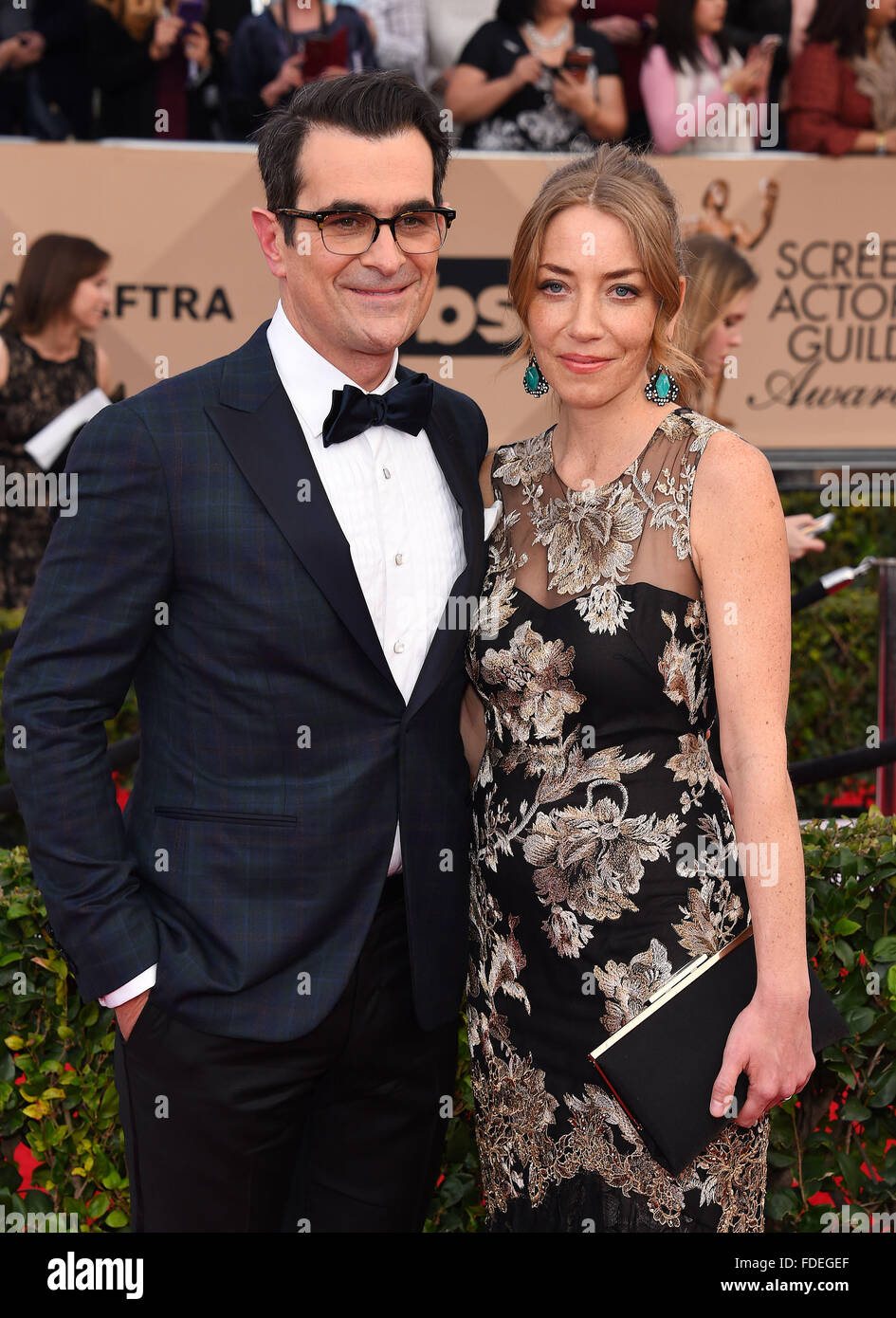 Holly Burrell And Ty Burrell Stockfotos & Holly Burrell And Ty ...