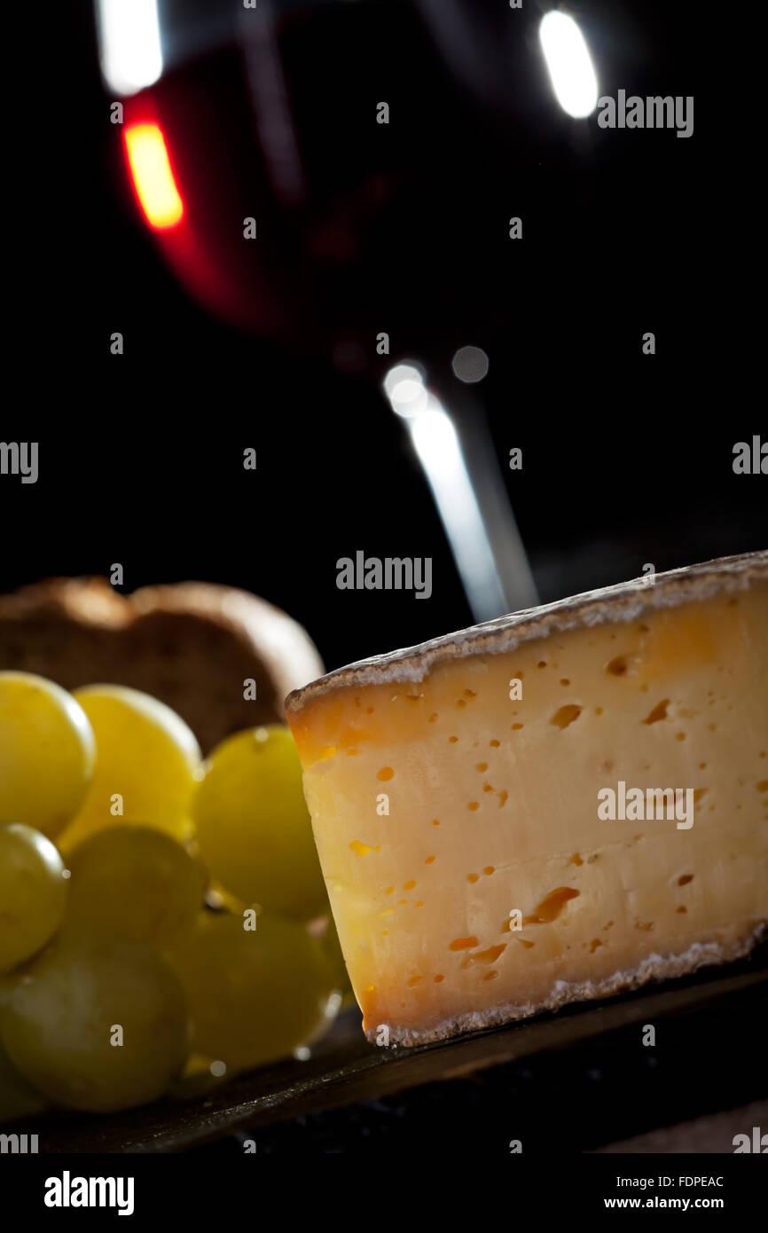 Käse, Dessert, Brie, herzhaft Stockbild