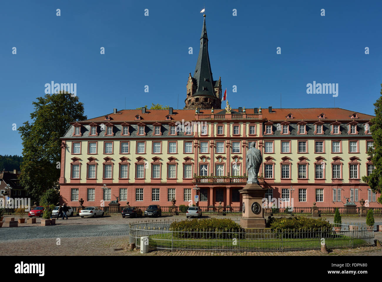 Schloss Erbach Stockfoto Bild 94542000 Alamy