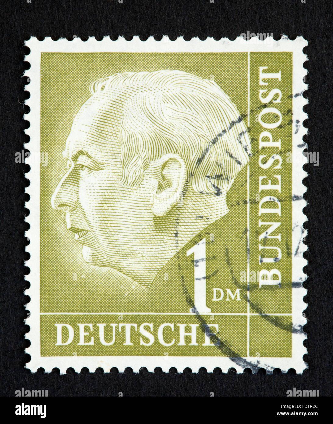 Deutsche Briefmarke Stockfoto Bild 94587316 Alamy