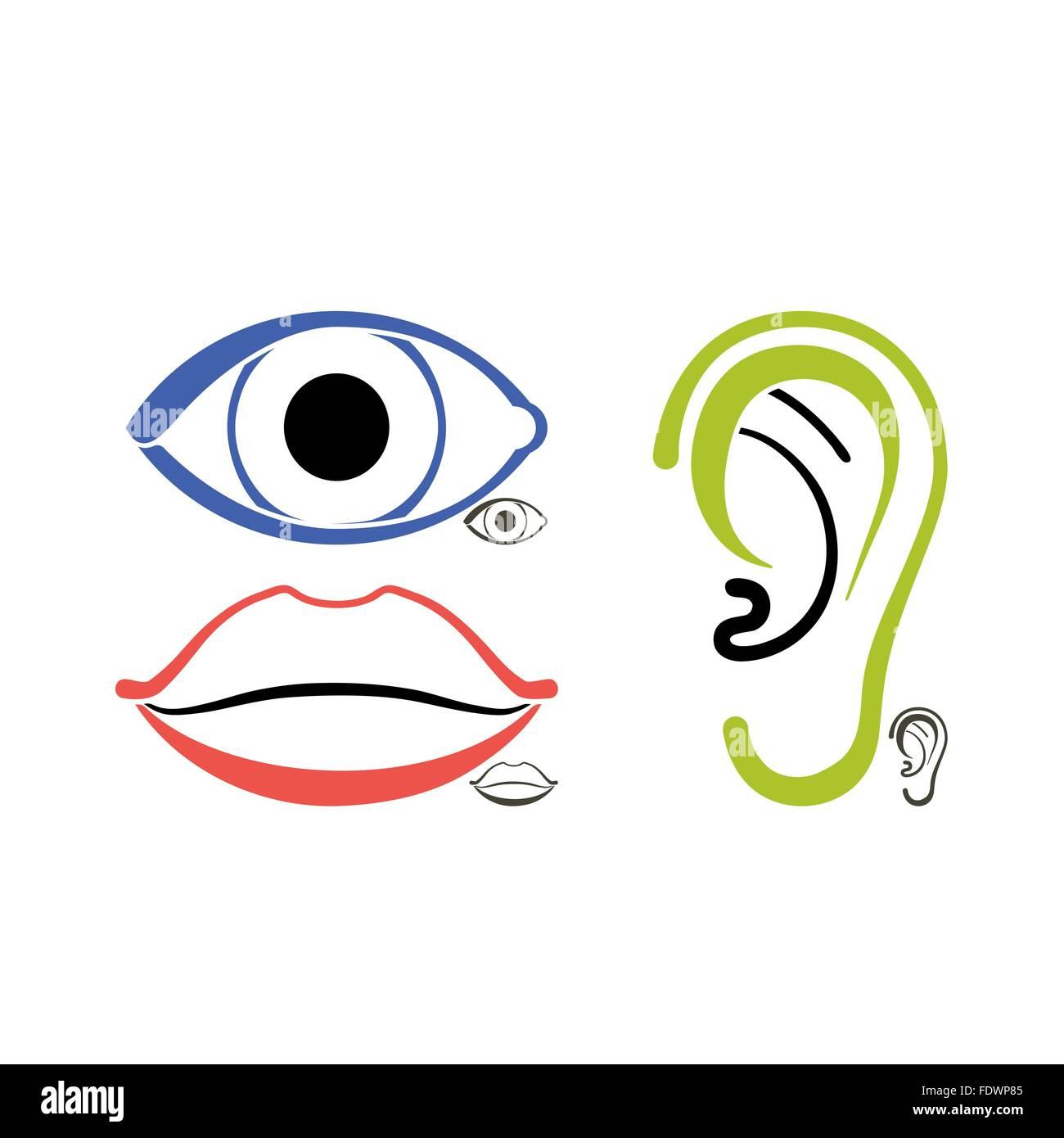 Eye Drawing Medical Stockfotos & Eye Drawing Medical Bilder - Alamy