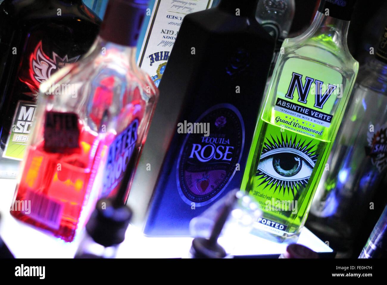 Cardiff, Wales, 12.06.2014, Foto an Sicherung Bar in Cardiff, © AimeeHerd Freelance Stockfoto