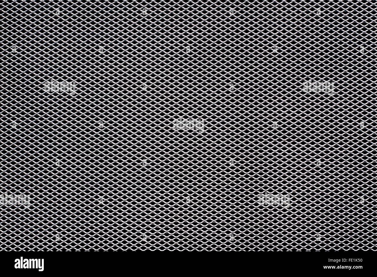 Net - Metall Textur oder Hintergrund Stockbild