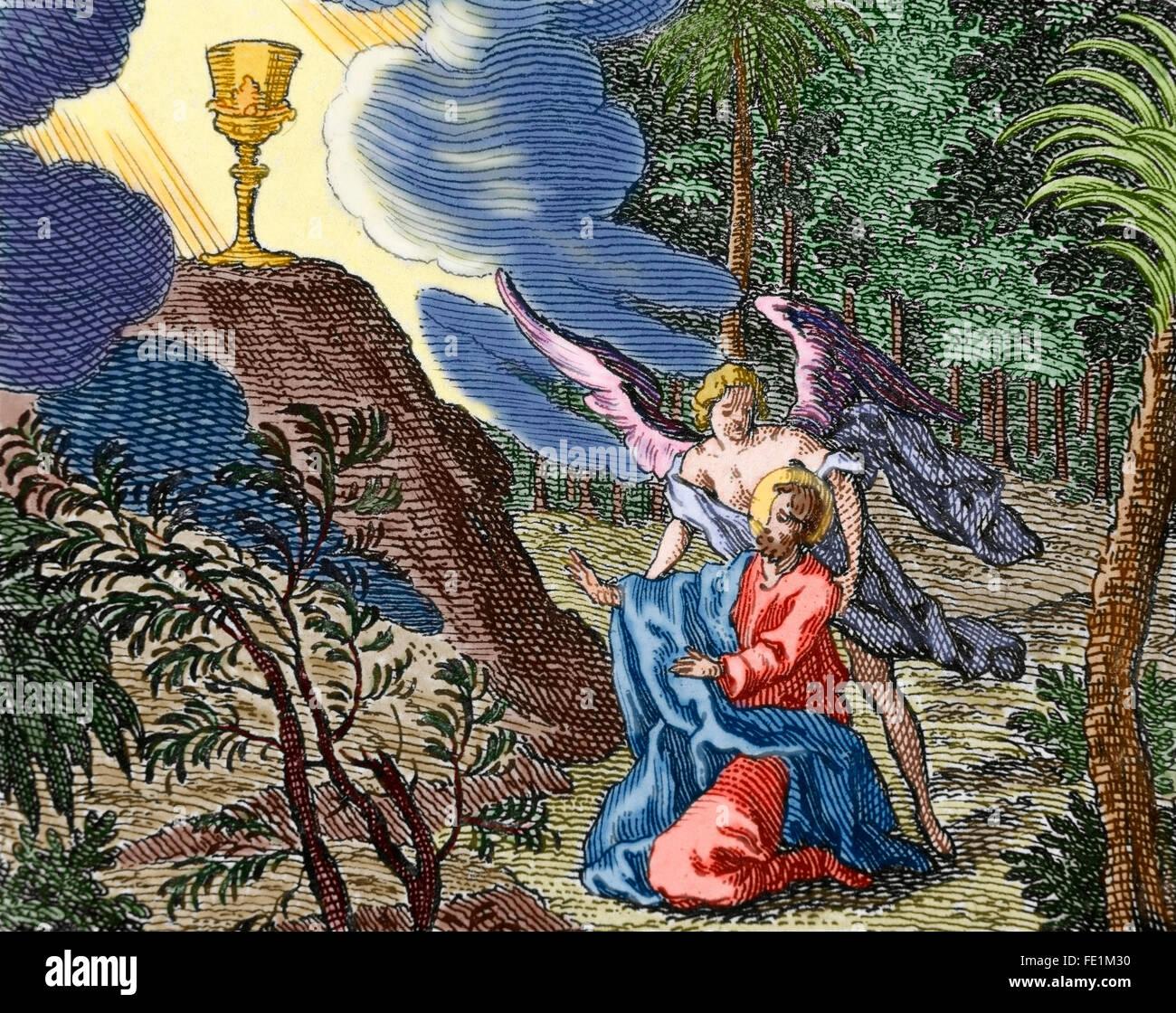 Berühmt Farbtonseite Von Jesus Der Im Garten Betet Fotos - Beispiel ...