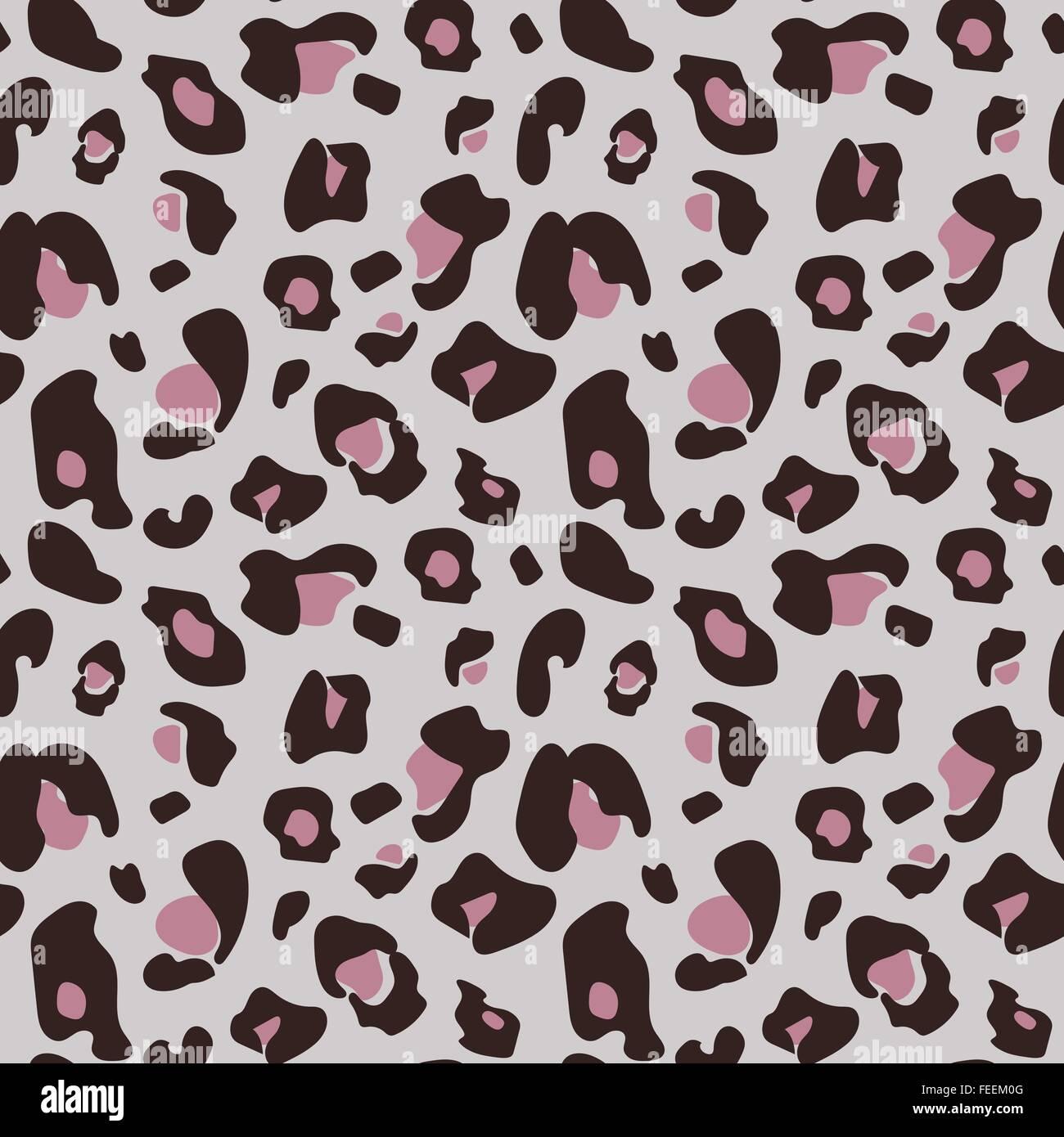 ged mpfte nahtlose leoparden muster in gedeckten rosat nen vektor abbildung bild 94980048 alamy. Black Bedroom Furniture Sets. Home Design Ideas