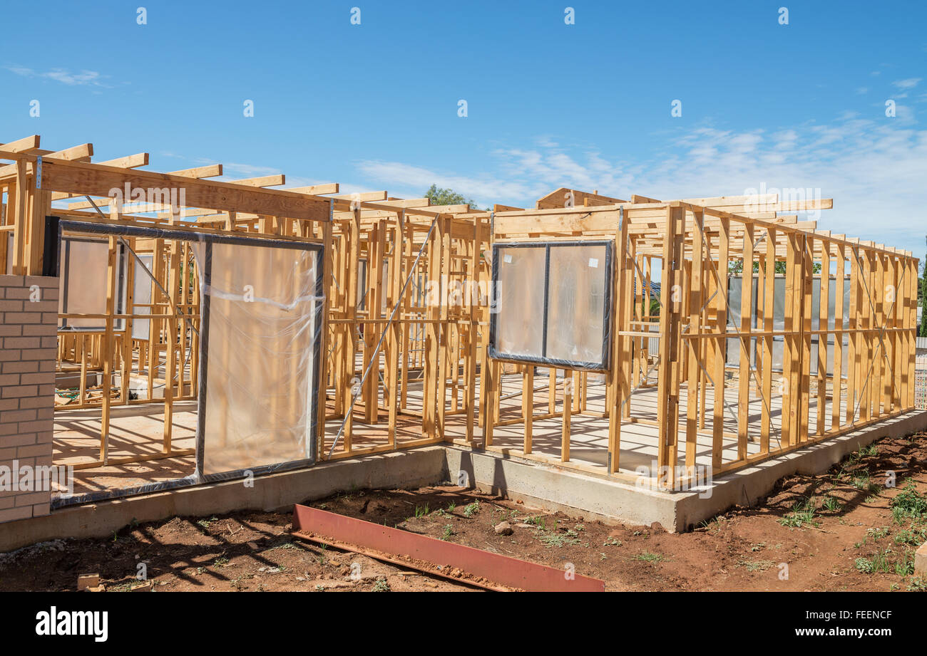 Construction Framing Joists Stockfotos & Construction Framing Joists ...