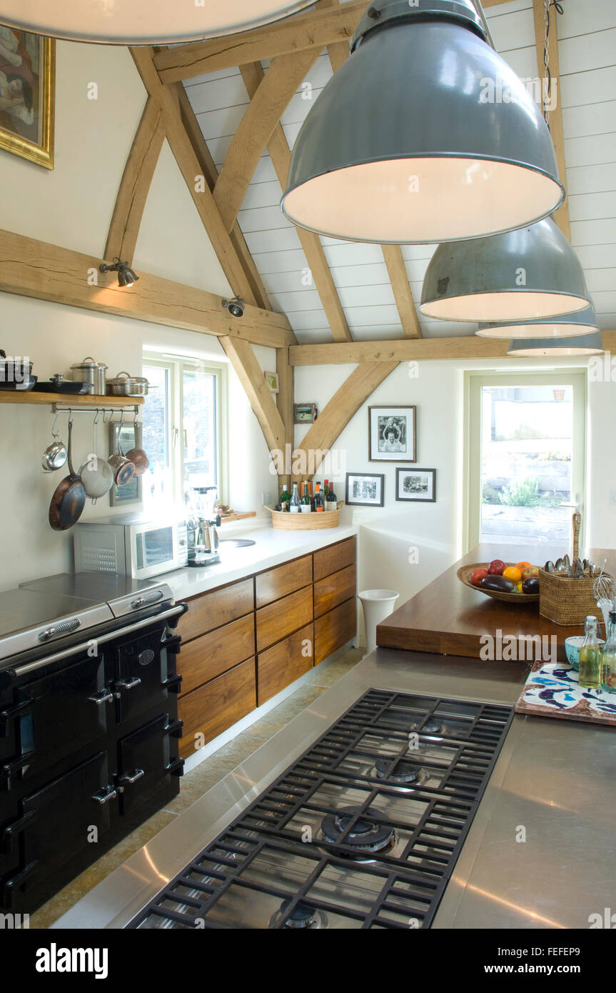 Modern Kitchen Details Stockfotos & Modern Kitchen Details Bilder ...