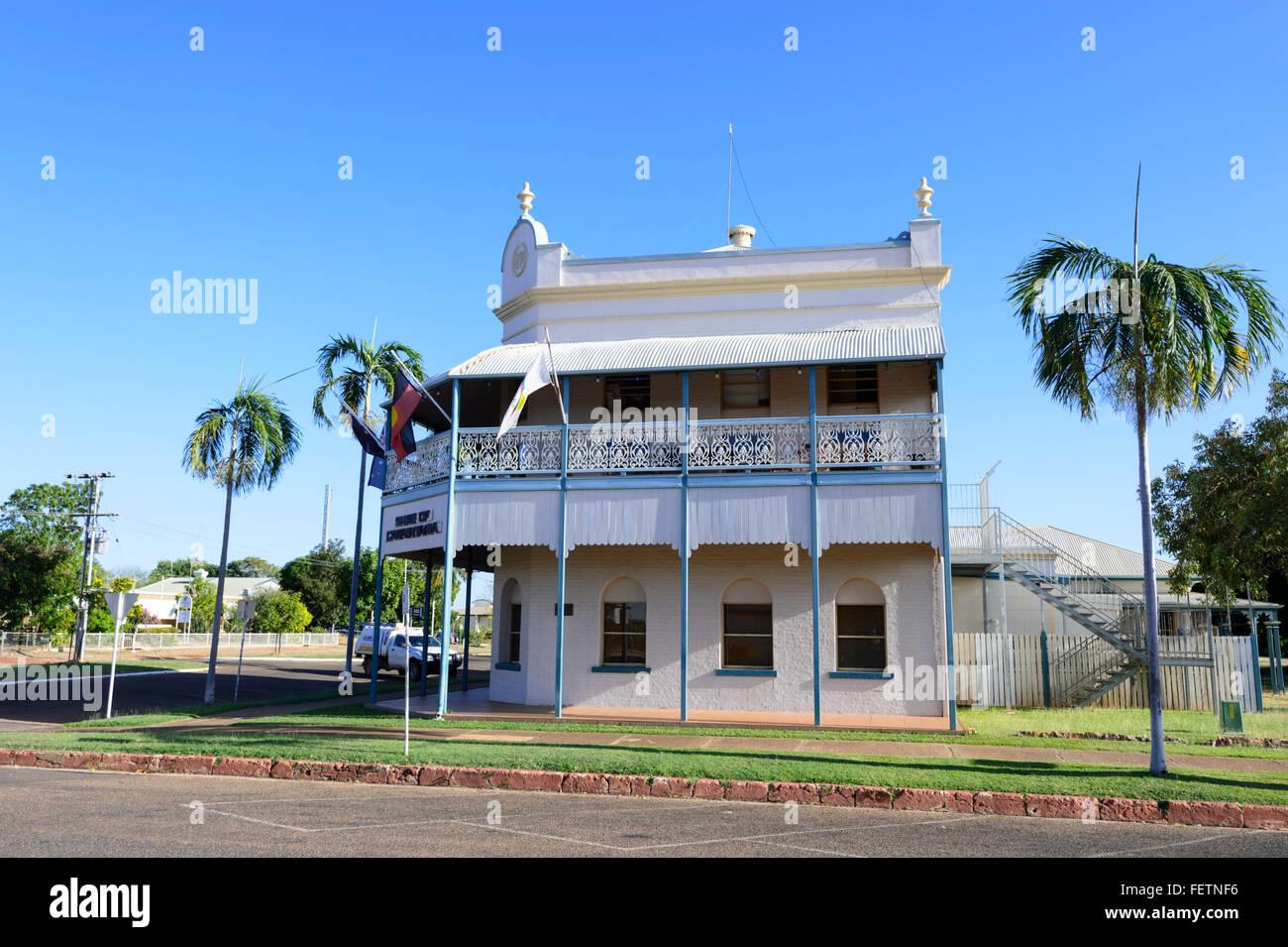 Historische Gebäude, Normanton, Golf von Carpentaria, Queensland, Australien Stockbild