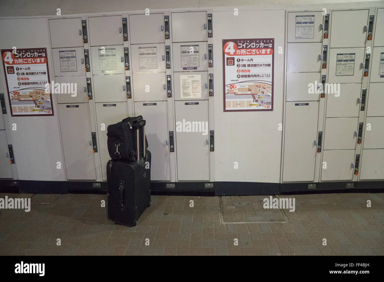 station luggage storage stockfotos station luggage storage bilder alamy. Black Bedroom Furniture Sets. Home Design Ideas