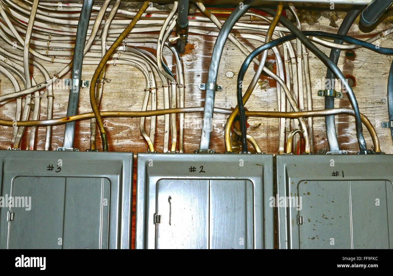 Wiring Stockfotos & Wiring Bilder - Alamy