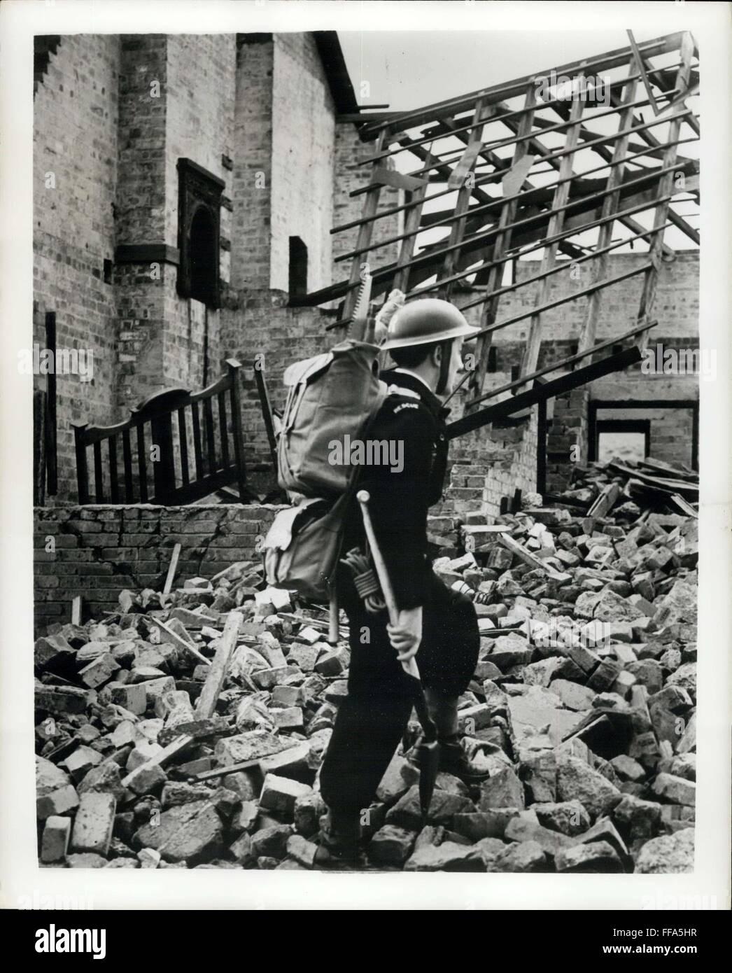 1961 - Atom-Age Retter wird gehen zu Fuß: weil Rettungsfahrzeuge ...