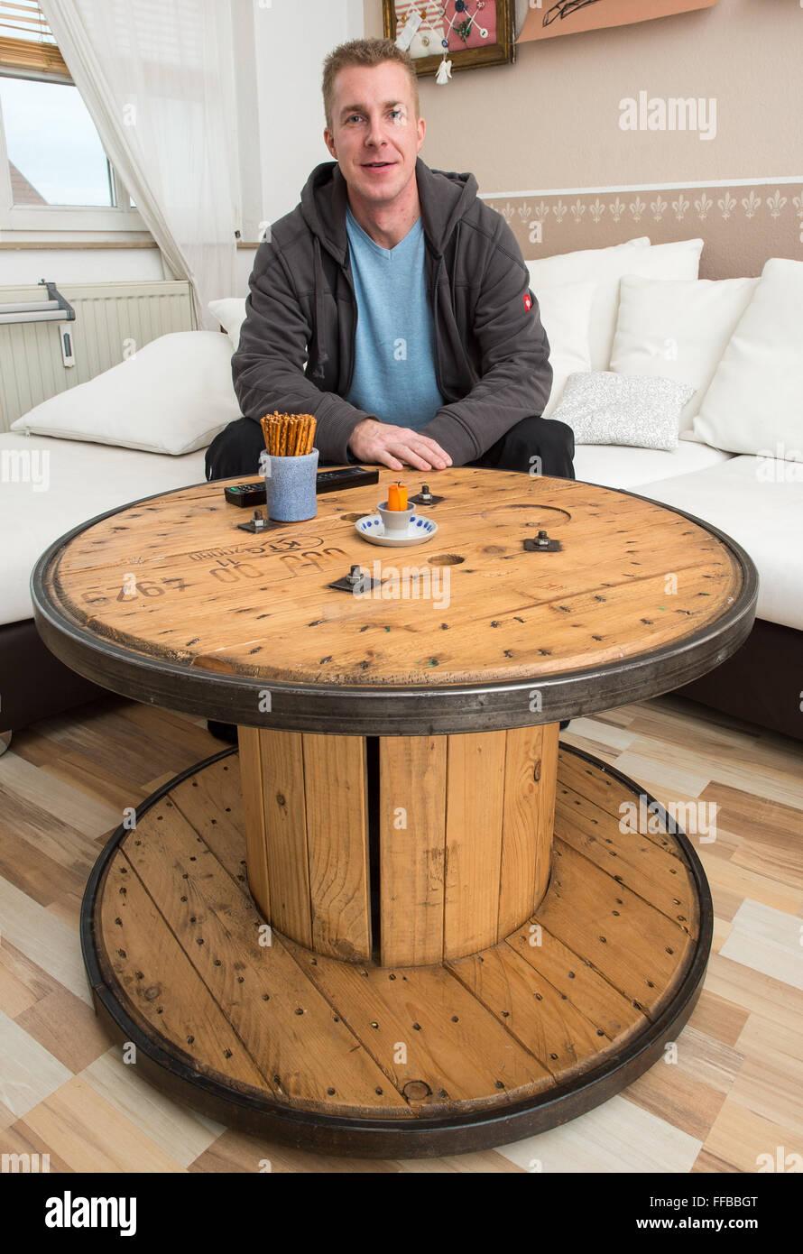 Möbeldesigner Deutschland möbel designer michael koeppe der firma re used de in seiner wohnung