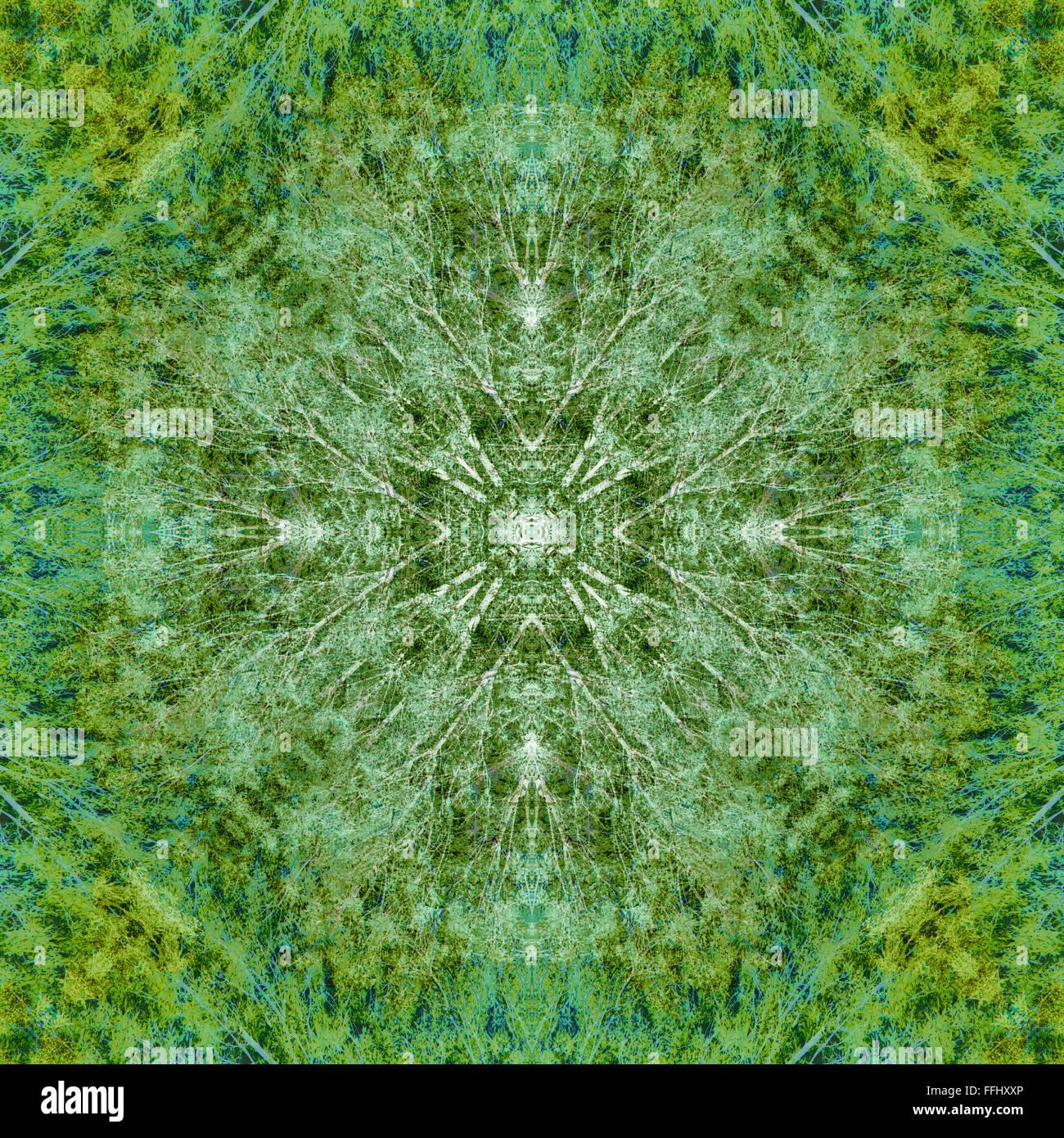 Symmetrie-abstrakt Stockbild