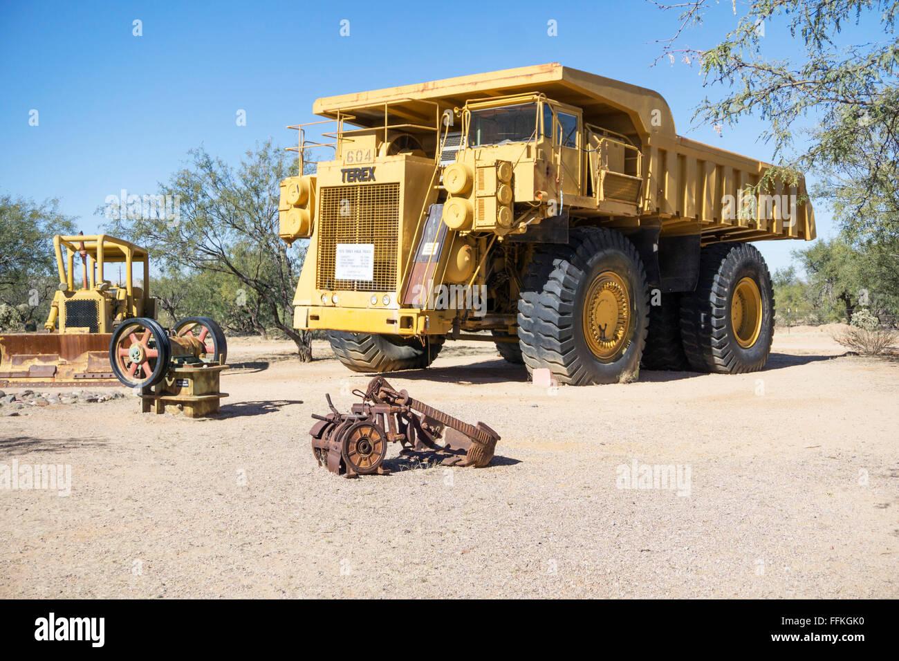 1975 170 Tonnen Kapazität Erz schleppen LKW auf dem Display mit ...