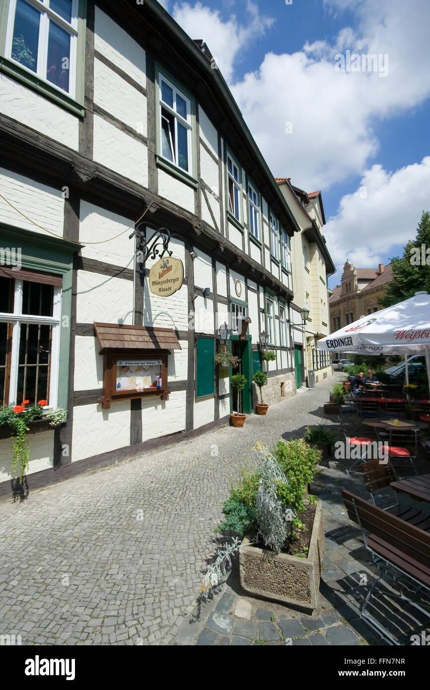 Geographie Reisen Deutschland Sachsen Anhalt Quedlinburg